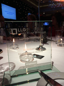 Information Management Award by LLG